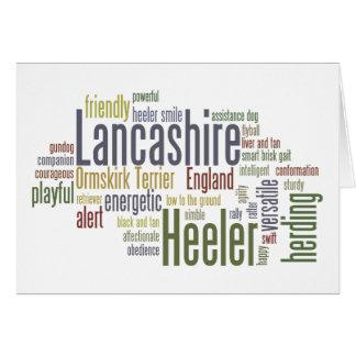 Lancashire Heeler Greeting Card