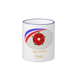 Lancashire Rugby Coffee Mug