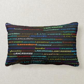 Lancashire Text Design I Lumbar Pillow