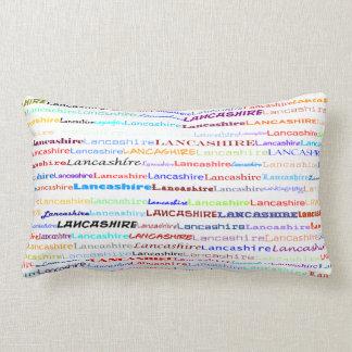 Lancashire Text Design II Lumbar Pillow