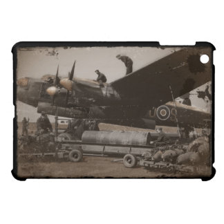 Lancaster Being Loaded with Bombs iPad Mini Case