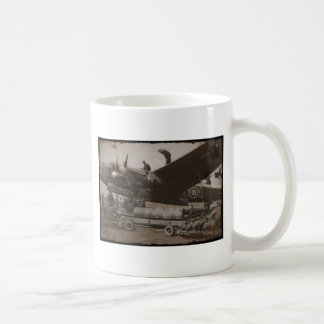 Lancaster Being Loaded with Bombs Classic White Coffee Mug