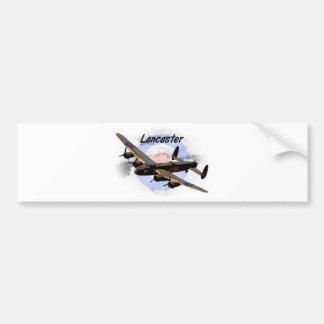Lancaster Bomber Car Bumper Sticker