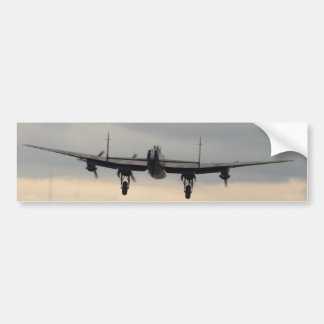 Lancaster Bomber From Behind Bumper Sticker