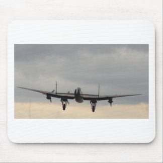 Lancaster Bomber From Behind Mouse Pad