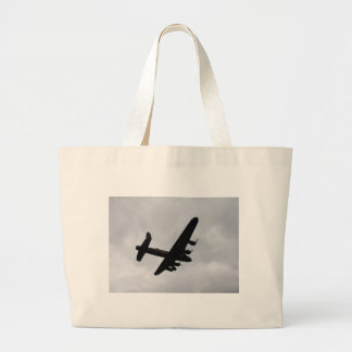 Lancaster Bomber Overhead Canvas Bags