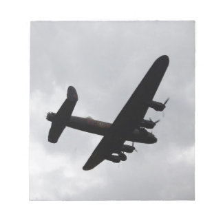 Lancaster Bomber Overhead Notepad