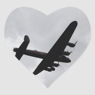 Lancaster Bomber Overhead Stickers