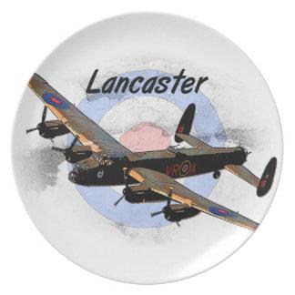 Lancaster Bomber Plates