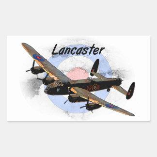 Lancaster Bomber Rectangular Sticker