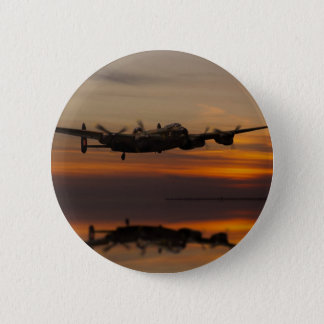 lancaster Bomber the home stretch Pinback Button