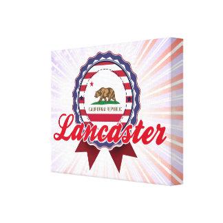 Lancaster, CA Lienzo Envuelto Para Galerias