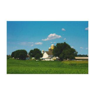 Lancaster County Farm Canvas Print