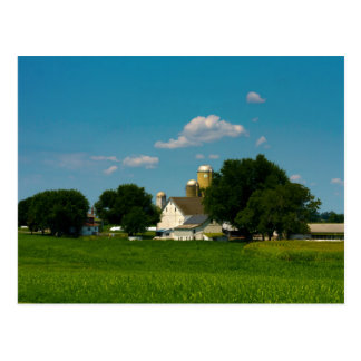 Lancaster County Farm Postcard