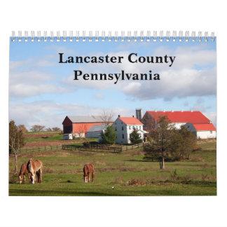 Lancaster County, Pennsylvania Calendar