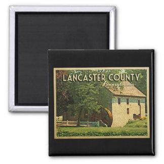 Lancaster County Pennsylvania Fridge Magnet