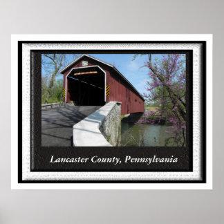 Lancaster County, Pennyslvania Poster
