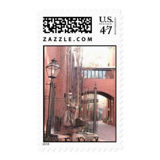 Lancaster County Sculpture Postage Stamp