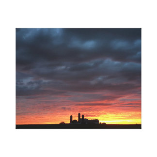 Lancaster County Summer Sunrise Canvas Print