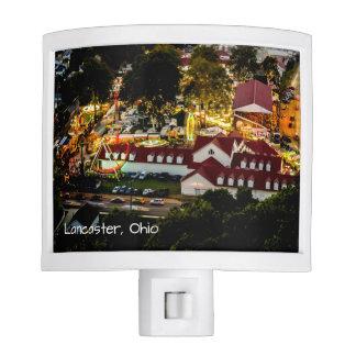 Lancaster Fairgrounds Night Light