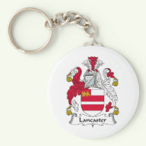 Lancaster Family Crest Keychain
