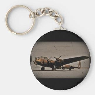 Lancaster Heavy Bomber Basic Round Button Keychain