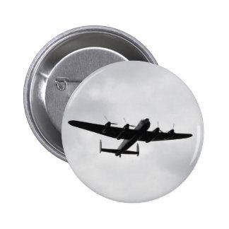 Lancaster Heavy Bomber Button