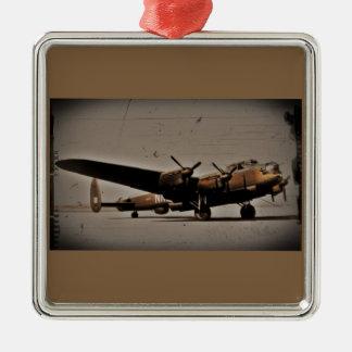 Lancaster Heavy Bomber Metal Ornament