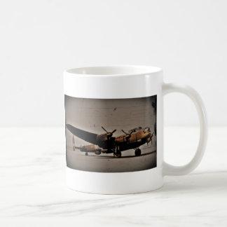 Lancaster Heavy Bomber Classic White Coffee Mug