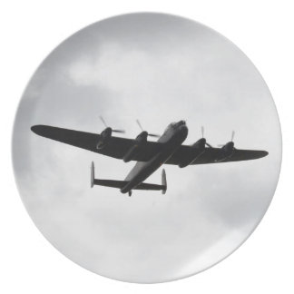 Lancaster Heavy Bomber Plate
