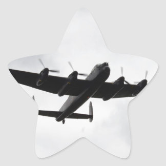 Lancaster Heavy Bomber Star Stickers