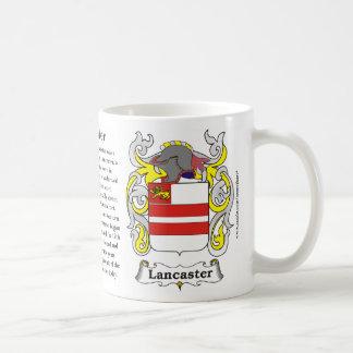 Lancaster, la historia, el significado y el escudo taza