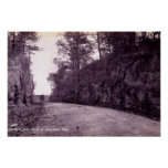 Lancaster Ohio North of Shimps Hill Poster
