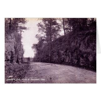 Lancaster Ohio Shimps Hill Greeting Card