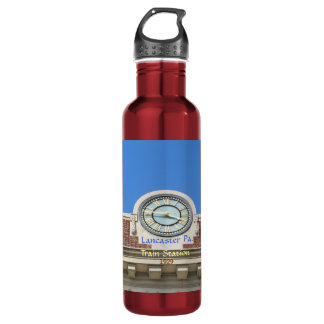Lancaster Pa. Train Station Stainless Steel Water Bottle