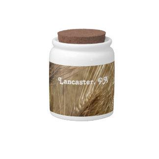 Lancaster Pennsylvania Platos Para Caramelos