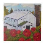 Lancaster Red Roses & Barn Tile