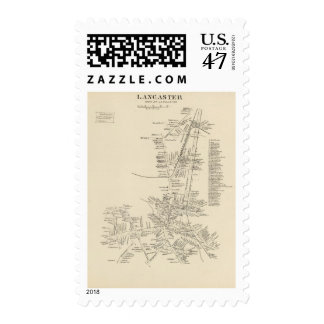 Lancaster, town of Lancaster Postage