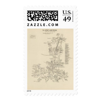 Lancaster, town of Lancaster Postage Stamps