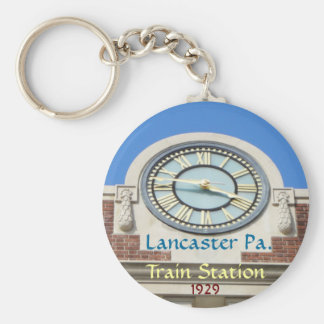 Lancaster Train Station Keychain