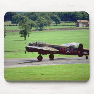 Lancaster, Woodford Air Show 1990, England Mousepad
