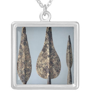Lance and Javelin Heads, 475-300 BC Silver Plated Necklace