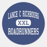 Lance C Richbourg Roadrunners Crestview Round Sticker