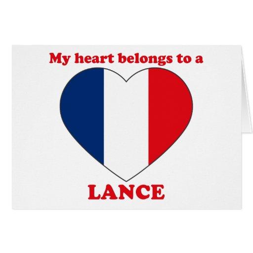 Lance Card