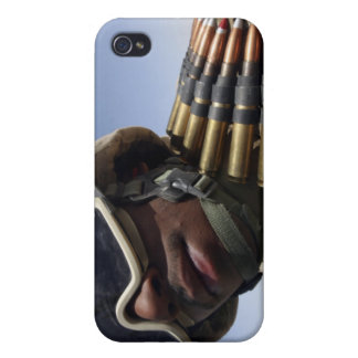 Lance Corporal waits for his turn iPhone 4 Cover