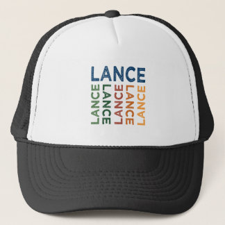 Lance Cute Colorful Trucker Hat