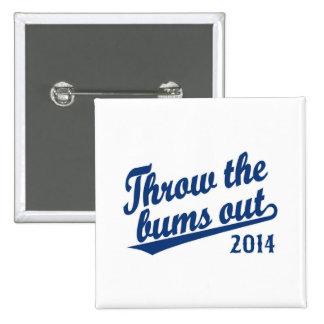 Lance el azul 2014 de los vagos hacia fuera pins