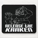 Lance el Kraken Alfombrilla De Ratón