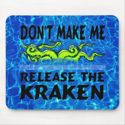 Lance el Kraken Mousepad Alfombrillas De Raton