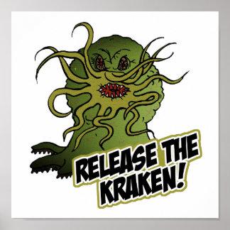 lance el kraken poster